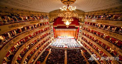 斯卡拉歌剧院内部