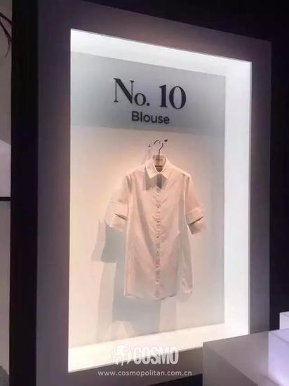 PORTS 1961的衬衫设计简约优雅,售价大多3000以上,版型近乎完美,手感极佳