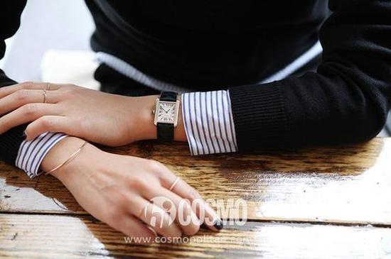 一块有品位的手表