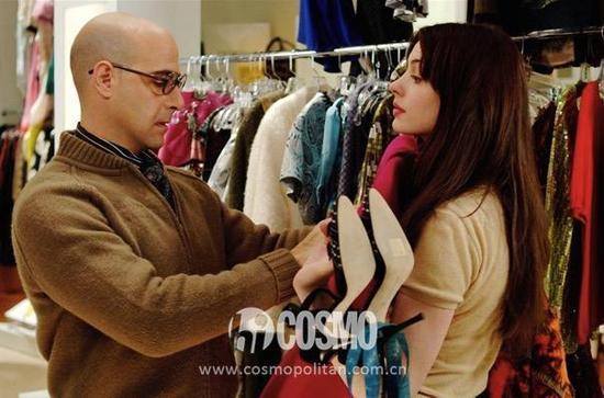"""《穿Prada的女王》里一句:""""从你穿上那双JimmyChoo开始,你就出卖了你的灵魂"""",让人印象深刻"""