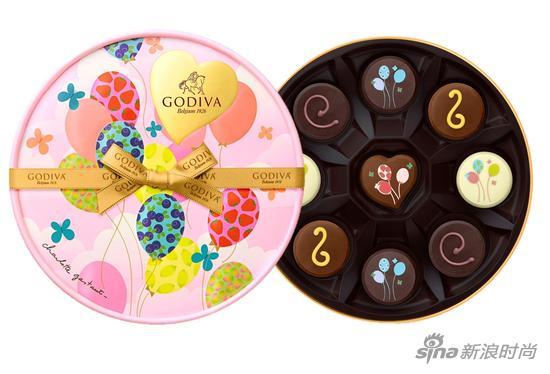 GODIVA的夏之恋限量版巧克力