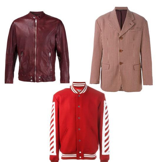 红色外套推荐