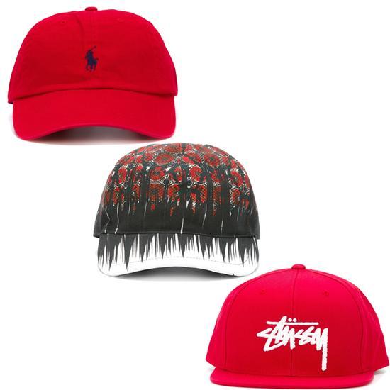红色帽子单品推荐