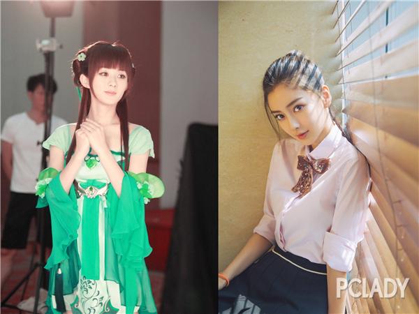 学赵丽颖Angelababy换上软妹唇更美!