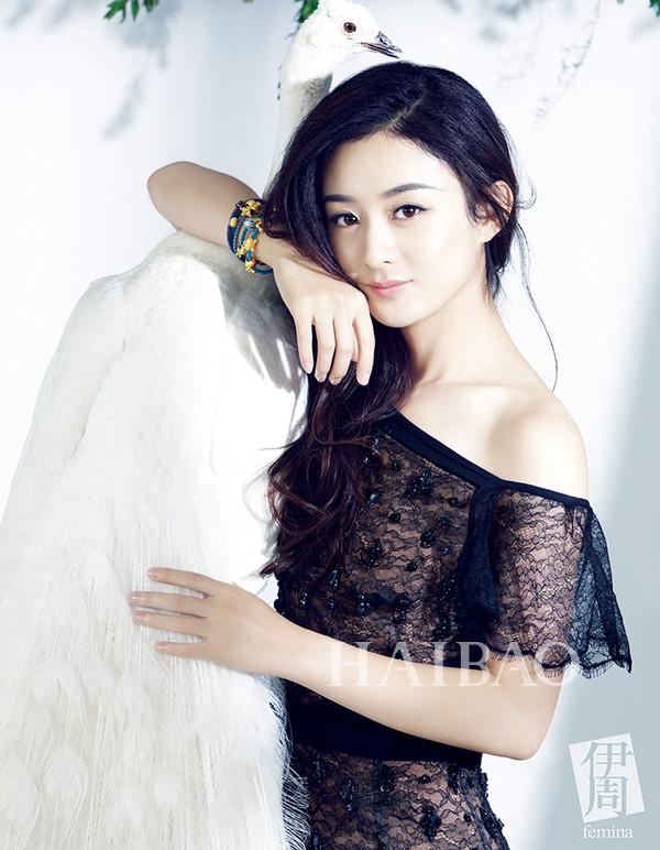 赵丽颖登《健康之友》封面