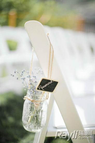 婚礼 DIY 椅背