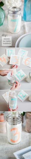 婚礼 DIY 桌牌