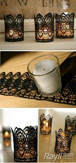婚礼 DIY烛台