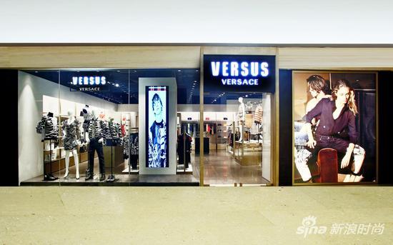 【淘宝贝】VERSUS VERSACE北京三里屯太古里全新概念店