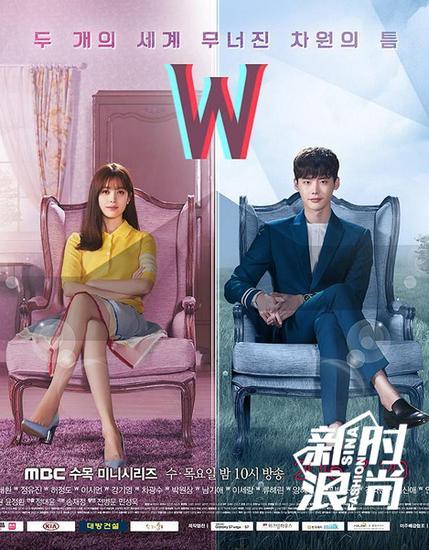 《W-两个世界》剧照海报