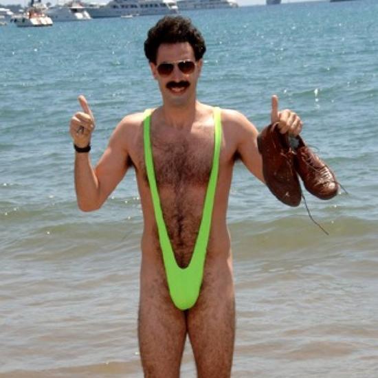 比基尼曾被原子弹炸过,那男式泳衣呢