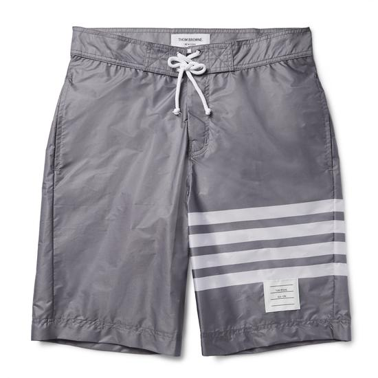 Thom Browne条纹长泳裤