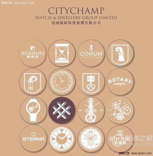冠城(CITYCHAMP)钟表珠宝集团公司