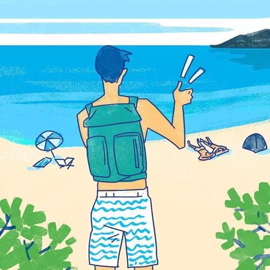 你不是去和别人在泳池或海里比试谁的100米游得更快的