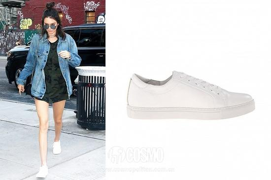 Kendall Jenner  Kenneth Cole New York Kam Sneakers