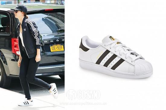 Lily Aldrifge  Adidas Superstar