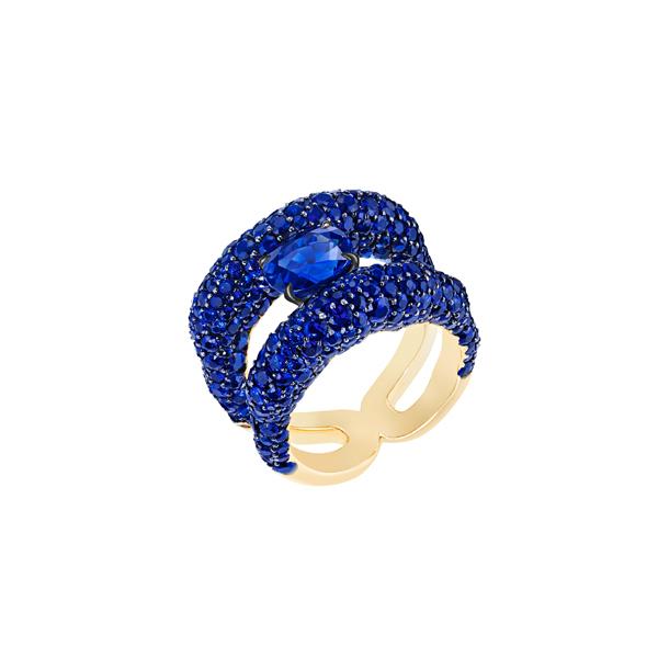 Fabergé Emotion系列蓝宝石戒指