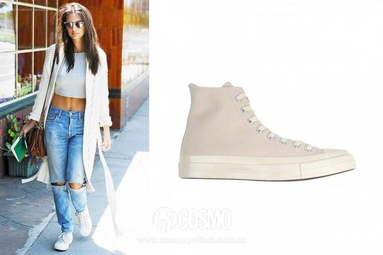 Ratajkowski   Converse All Star High-Tops