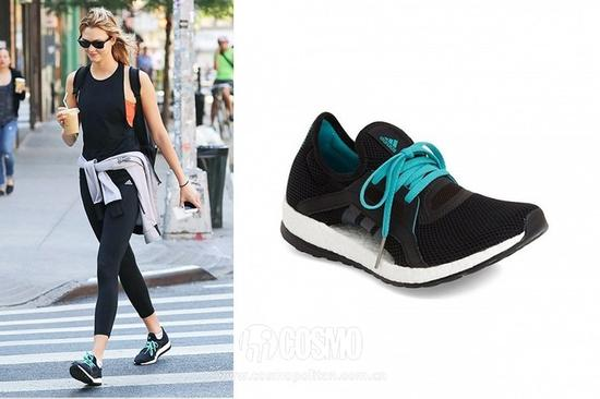 Karle Kloss   Adidas Pure Boost X Runnging Shoes