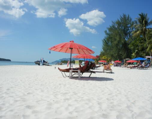 兰卡威岛--甜蜜的蓝色诱惑