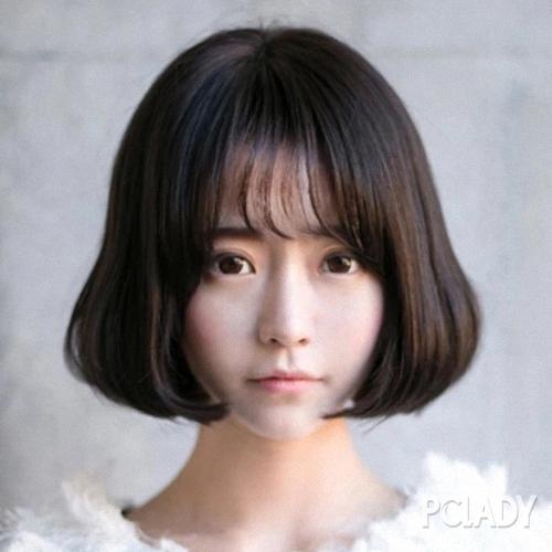 齐刘海怎么设计发型