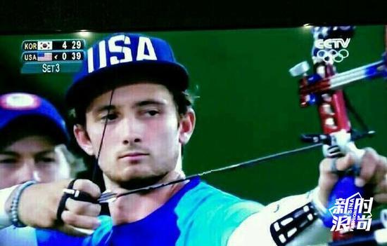四爷也去参加奥运会了