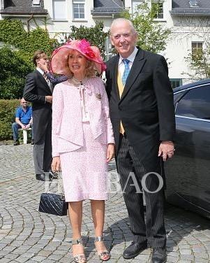 Otto-Ludwig王子和他的妻子Annette