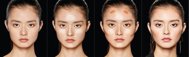 国字脸的小脸画法
