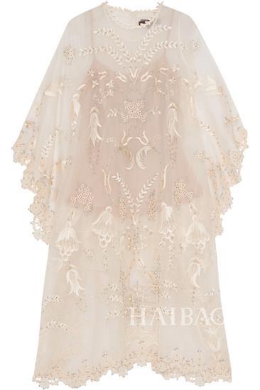 Biyan Aurelin蕾丝罩衫