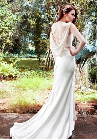 拖尾婚纱礼服