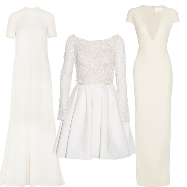 白色长裙单品推荐
