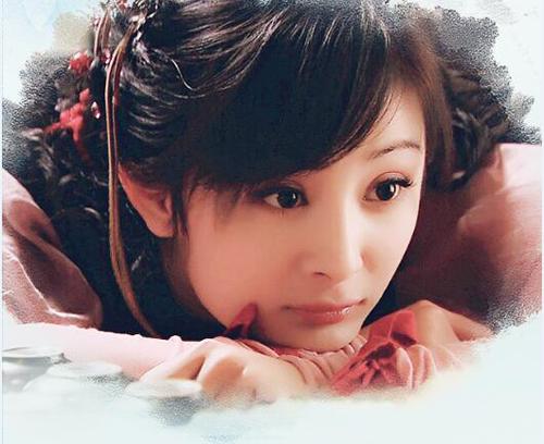 2009年的仙剑三 杨幂还是婴儿肥的可爱