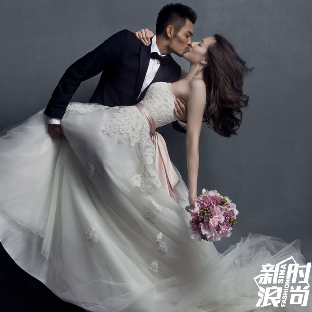 婚纱照拍出大片既视感