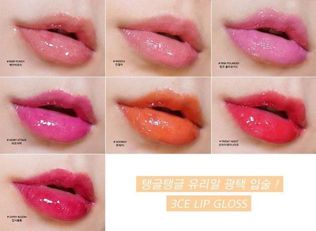 糖果玻璃唇