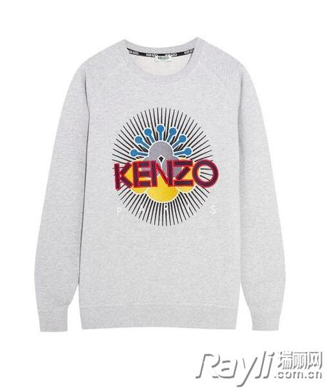 KENZO刺绣纯棉卫衣 约RMB1790
