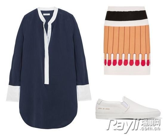 衬衫裙装单品推荐