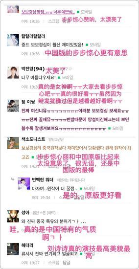 韩国网民评论刘诗诗