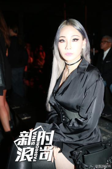 CL亮相秀场