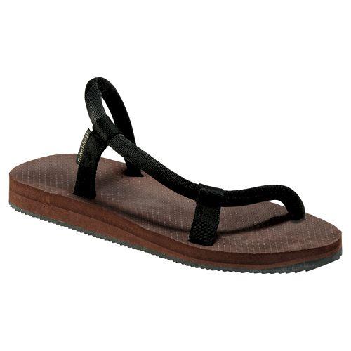 montbell黑色凉鞋
