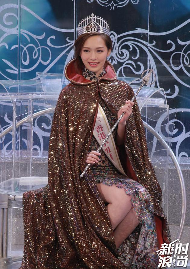 2016年香港小姐冠军——冯盈盈