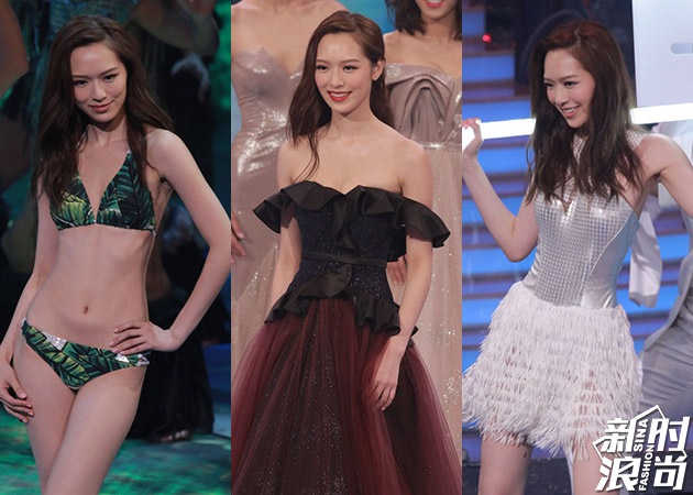 冯盈盈在港姐选秀各环节表现