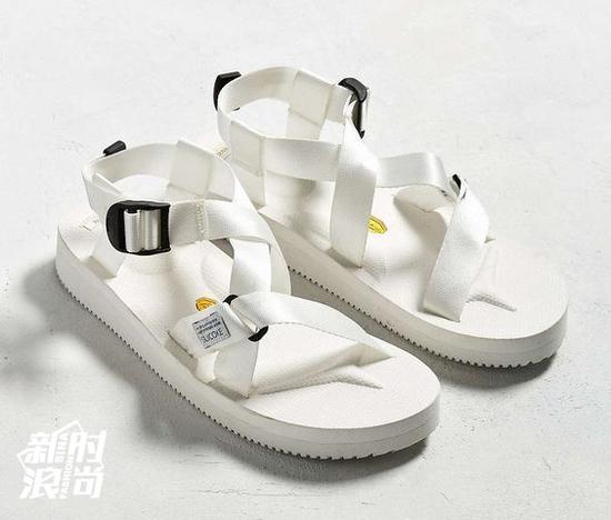 Suicoke CHIN2-V白色凉鞋