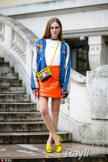 时尚博主 Chiara Ferragni