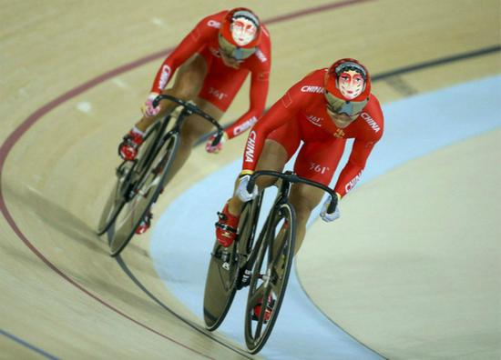 奥运场地自行车赛用车就是死飞