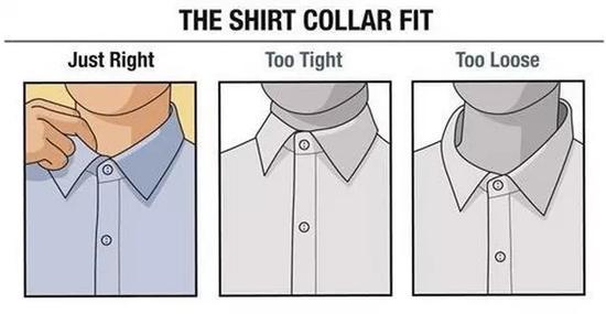 最好在你选衬衫之前请先看看下面这6张图!