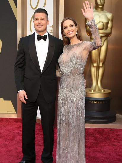 2014年,俩人再次出席奥斯卡颁奖典礼