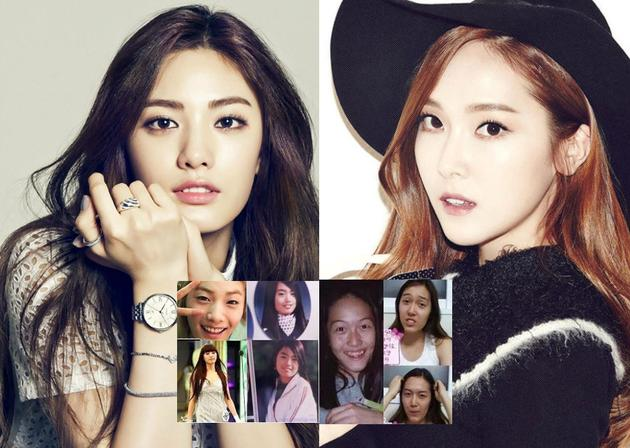 韓女星整容變臉 堪比大變活人