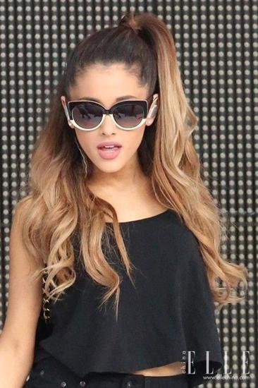 """""""半发造型""""简直就是小天后Ariana Grande的专属"""