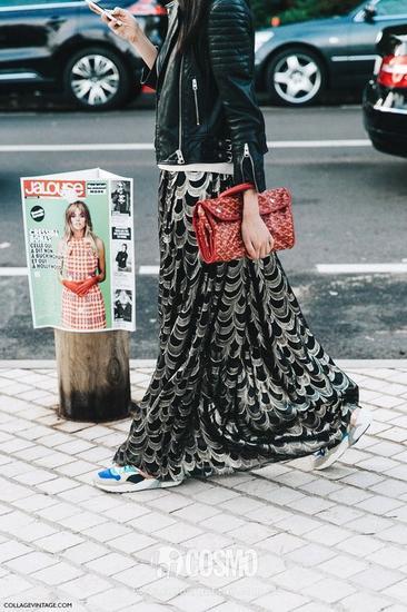 长纱裙:鳞片状