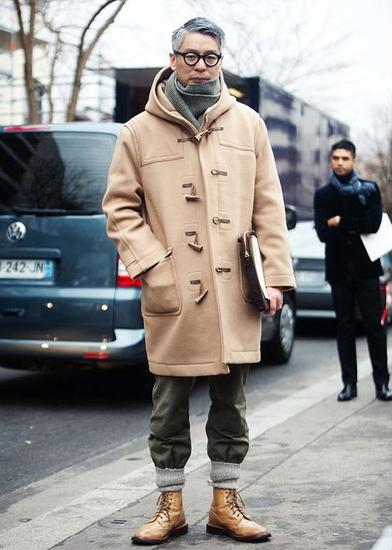 牛角扣大衣(Duffle Coat)